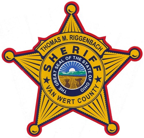 Thomas M. Riggenbach Sheriff Badge