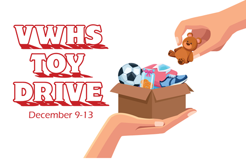 VWHS to host toy drive graphic