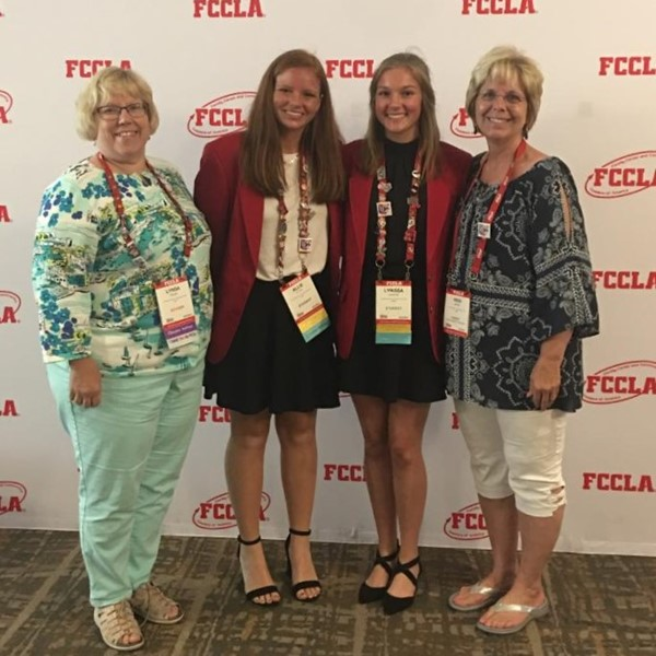 Vwhs Fccla Students Awarded Gold Medal At National Star Event Van Wert High School