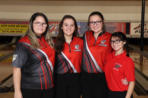 Senior Girl Bowlers