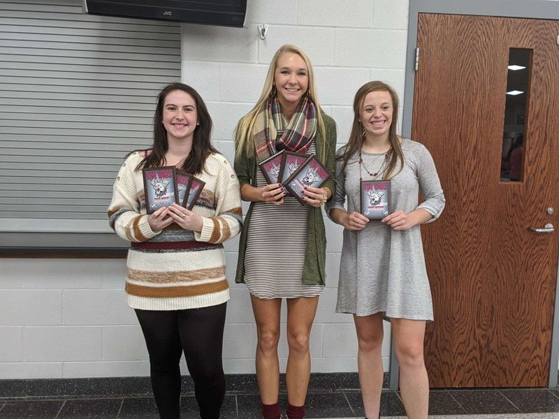 VWHS Volleyball Special Award Recipients
